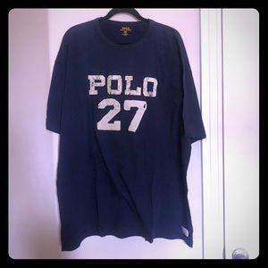 Polo Ralph Lauren T-shirt blue Navy 2XLT